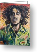 Dreadlocks Greeting Cards - Natural Mystic Greeting Card by Tyler Auman