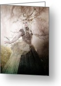 Antlers Greeting Cards - Naturel Greeting Card by Karen Koski
