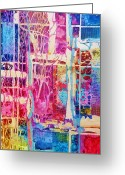 Representative Abstract Greeting Cards - Natures abstract Greeting Card by David Raderstorf