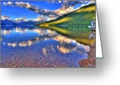 Western Canada Landscape Art Greeting Cards - Natures Designs Greeting Card by Scott Mahon