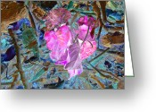 Kenneth James Greeting Cards - Natures Love Greeting Card by Kenneth James
