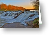 Spell Greeting Cards - Natures Recreation Greeting Card by Robert Harmon