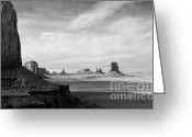 Urban Canyon Greeting Cards - Natures Sculptures Greeting Card by Jim Chamberlain
