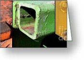 Melon Greeting Cards - Natuzzi Greeting Card by Marlene Burns