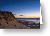 Nauset Beach Greeting Cards - Nauset Beach Sunrise Greeting Card by John Greim