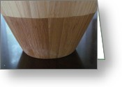 Wooden Bowls Greeting Cards - Navajo bowl two Greeting Card by Tina M Wenger