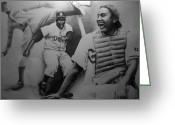 Sports Art Drawings Greeting Cards - Negro League Greeting Card by Adam Barone