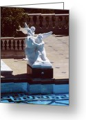 San Simeon Greeting Cards - Neptune Pool Hearst Castle CA Greeting Card by Troy Montemayor