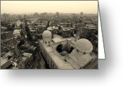 Minaret Greeting Cards - Never-ending Cairo Greeting Card by Arjun Purkayastha  travel & fine art photography 