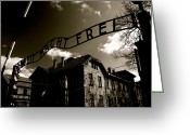 Nazis Greeting Cards - Never Forget 25 Greeting Card by Jez C Self