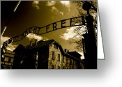 Nazis Greeting Cards - Never Forget 27 Greeting Card by Jez C Self