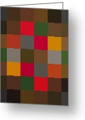 Paul Klee Greeting Cards - New Harmony Greeting Card by Max Requenes