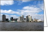 Louisiana Greeting Cards - New Orleans Greeting Card by Olivier Le Queinec