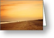 Digital Prints Greeting Cards - New Years Night Greeting Card by Phill  Doherty