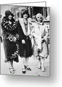 Roaring Twenties Greeting Cards - NEW YORK - HARLEM c1927 Greeting Card by Granger