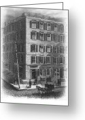 Commission Photo Greeting Cards - New York: Fraunces Tavern Greeting Card by Granger
