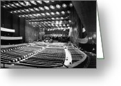 Philharmonic Greeting Cards - New York: Lincoln Center Greeting Card by Granger