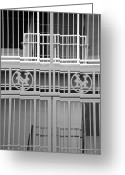 New York Baseball Parks Greeting Cards - New York Mets Jail Greeting Card by Rob Hans