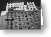 B Block Greeting Cards - New York Greeting Card by Michael Avory