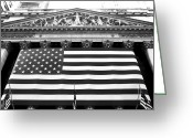 Art Of Building Greeting Cards - New York Stock Exchange Greeting Card by John Rizzuto