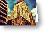 Picoftheday Greeting Cards - New Yorker Hotel Greeting Card by Luke Kingma