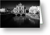 Town Hall Greeting Cards - Newry Town Hall designed by William Batt county down northern ireland Greeting Card by Joe Fox