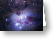 1977 Greeting Cards - Ngc 1977 Is A Reflection Nebula Greeting Card by Robert Gendler
