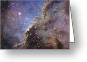 Molecular Clouds Greeting Cards - Ngc 6188, An Emission Nebula Greeting Card by Don Goldman