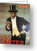 Carter Greeting Cards - Nick Carter Greeting Card by Nomad Art and  Design