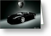 Car Pic Art Design Reliefs Greeting Cards - Night Reader Greeting Card by Mochamad Gunarko