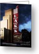 San Rafael Greeting Cards - Nightfall At The Lark - Larkspur California - 5D18482 Greeting Card by Wingsdomain Art and Photography