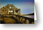 Alcatraz Greeting Cards - No Longer Captured Greeting Card by Laural Russell