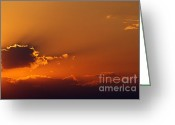 Alan Look Greeting Cards - No Mountains No Sun Greeting Card by Alan Look