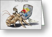 Legs Digital Art Greeting Cards - No Place Like Home Greeting Card by Rob Snow
