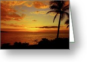 Jamaican Sunsets Greeting Cards - No Worries Greeting Card by Kamil Swiatek