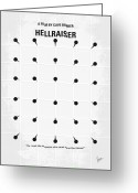 Elm Greeting Cards - No033 My HELLRAISER minimal movie poster.jpg Greeting Card by Chungkong Art