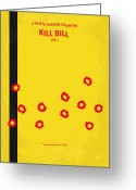 David Greeting Cards - No048 My Kill Bill -part 1 minimal movie poster Greeting Card by Chungkong Art