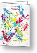 Graphic Greeting Cards - No065 My Polock minimal movie poster Greeting Card by Chungkong Art