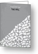 Camp Greeting Cards - No091 My The Hill minimal movie poster Greeting Card by Chungkong Art
