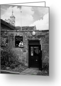 Town Hall Greeting Cards - North Down museum and heritage centre in Bangor Castle now the town hall home of north down Greeting Card by Joe Fox