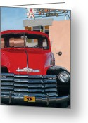 Pickup Painting Greeting Cards - Nostalgia Greeting Card by Jack Atkins