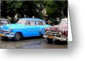 Collectors Car Greeting Cards - Nostalgia Greeting Card by Karen Wiles