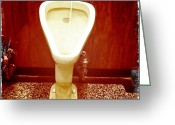 Urinal Greeting Cards - Not A Urinal Greeting Card by Frank Winters