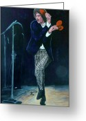 Rolling Stones Painting Greeting Cards - Not Fade Away Greeting Card by Tom Roderick