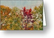 Aimelle Prints Digital Art Greeting Cards - Not Just Some Other Autumn Trees Greeting Card by Aimelle