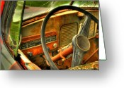 Old Chevrolet Truck Greeting Cards - Not Speeding Greeting Card by Thomas Young