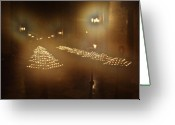 Etherial Greeting Cards - Notre Dame Candles Greeting Card by Mark Currier