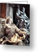 Old Prints Posters Greeting Cards - Novi Opera Greeting Card by John Rizzuto