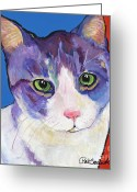 Companions Greeting Cards - Nugget Greeting Card by Pat Saunders-White