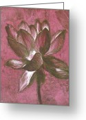 Petals Reliefs Greeting Cards - Number 2 Greeting Card by Sabrina McGowens